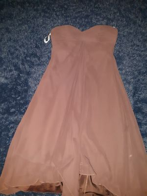 Medium chocolate brown bridesmaid/prom dress for Sale in Portsmouth, VA