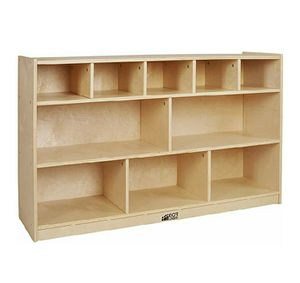 ECR4Kids birch 5+5 Storage & Tray Cabinet for Sale in Willingboro, NJ