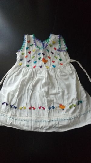 Embroidery Mexican Dress child size 4-5 for Sale in Fullerton, CA