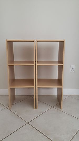 Book / closet Shelves set of two for Sale in Lake Worth, FL