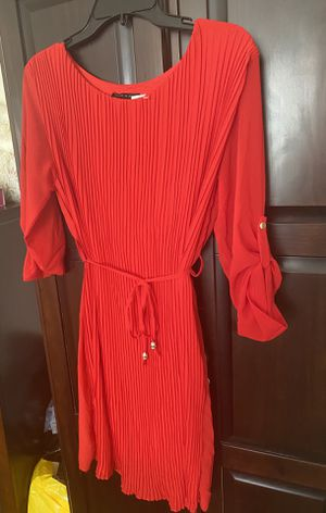 Red knee length dress for Sale in Queens, NY