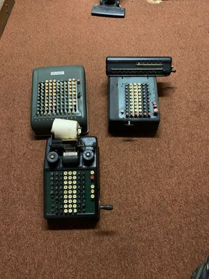 Vintage adding machines for Sale in Parma, OH