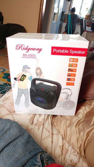 Bluetooth portable lighting Speaker 5inch for Sale in Las Vegas, NV