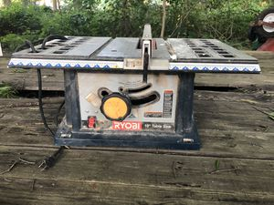 Ryobi 10 table saw 119 $ or you best offer for Sale in Arlington, VA