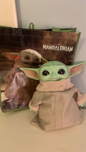 Star Wars The Child Plush Toy, 11-Inch Small Yoda-Like Soft Figure From The Mandalorian for Sale in Houston, TX