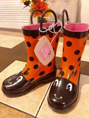 Lily&Dan little Girl Rain Boots for Sale in El Monte, CA