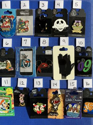 Disney pin pins collection for Sale in Trabuco Canyon, CA