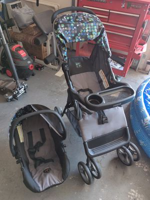 BABY CAR SEAT & STROLLER (USED) for Sale in YSLETA SUR, TX