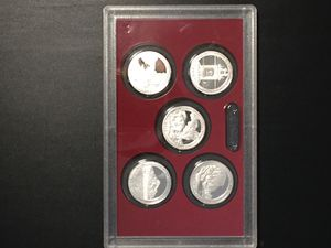 Set of 5 2010 Silver Proof National Park Quarters for Sale in Washington, DC