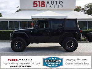 2010 Jeep Wrangler Unlimited for Sale in Norfolk, VA