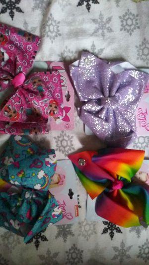 3 JoJo & 1 LOL bows 15$ for all 4 for Sale in Norfolk, VA