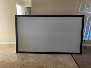 "110"" Projector Screen Board for Sale in Salinas, CA"