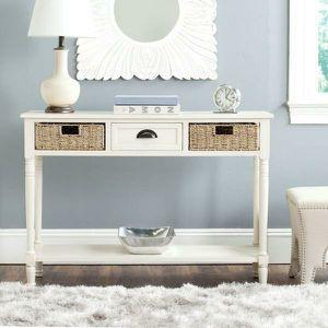 Winifred White Storage Console Table - New for Sale in Orlando, FL