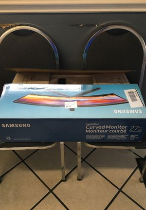 Samsung Curved Monitor Flat Screen TV for Sale in Burleson, TX
