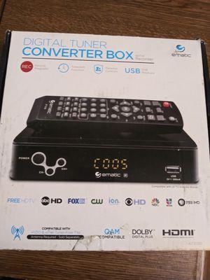 Tv converter box for Sale in Wichita, KS