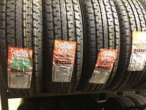 NEW! 205 75 15 POWER KING TRAILER TIRES (SET OF 4)! MORE BRANDS AND SIZES AVAILABLE! CONTACT US! for Sale in Hialeah, FL