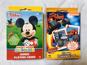 Kids cards and checkers games for Sale in Vancouver, WA