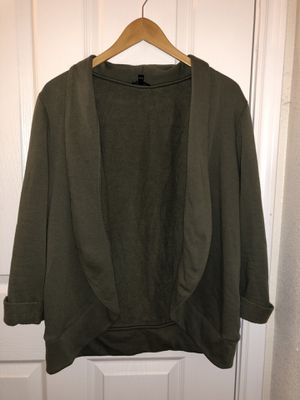 Olive Green Cardigan (L) for Sale in Rolla, MO