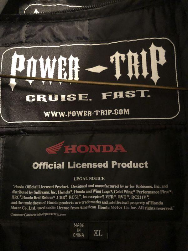 Honda Power Trip Motorcycle Jacket
