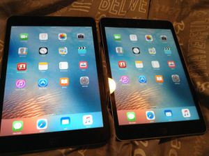 Ipad mini. 1st Gen no charger. No iCloud lock. 2 for $80 for Sale in Rancho Cordova, CA