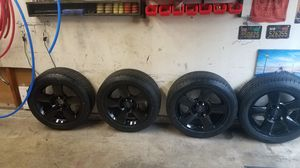 Nissan titan rims and tires for Sale in La Habra, CA