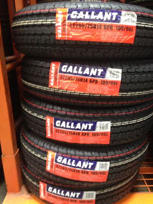 205-75-14 trailer tires 🔥🔥🔥🔥 for Sale in Upland, CA