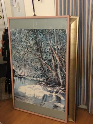 """Nature picture frame 41""""x30"""" for Sale in Orlando, FL"""