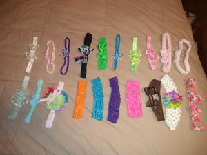 Baby headbands newborn-12 months for Sale in Knoxville, TN