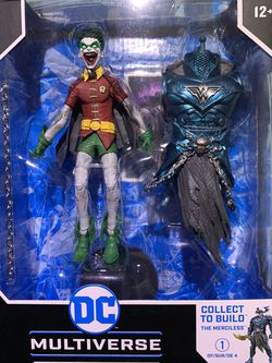 DC Multiverse Robin Earth-22 Crow (Laugh Variant) with MERCILESS BAF McFarlane for Sale in Hacienda Heights,  CA