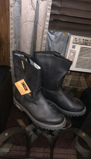 Black work boots $60obo for Sale in Angier, NC
