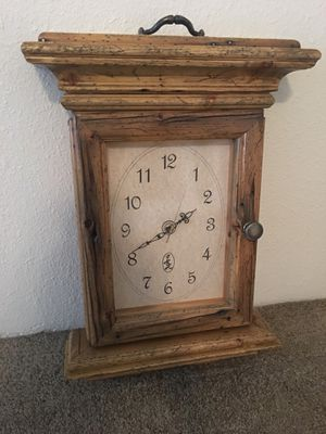Antique 1880 wood clock for Sale in Scottsdale, AZ