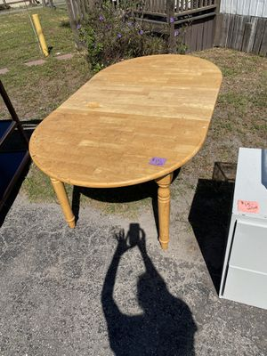 Wooden kitchen table for Sale in Riverview, FL
