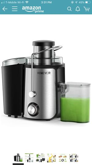 Homever Juicer and jars for Sale in Tampa, FL