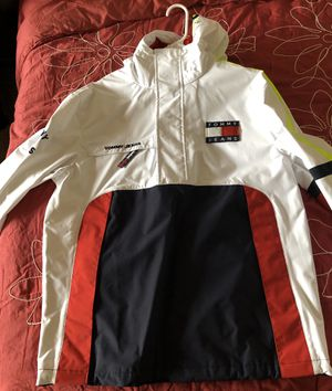 BRAND NEW TOMMY HILFIGER 90's SAILING JACKET for Sale in Alexandria, VA
