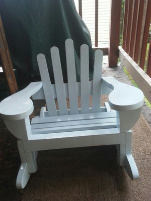 Childrens wooden rocking chair for Sale in Rochester, PA