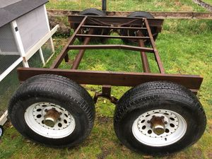 Trailer axle with brakes. for Sale in Enumclaw, WA