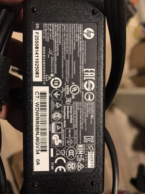 HP Laptop Charger 45w for Sale in La Habra Heights, CA