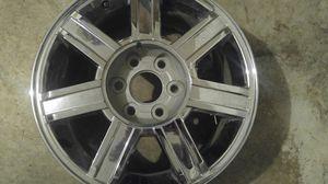 "1 18"" cadillac. Escalade chrome wheels Rim Rines wheel for Sale in Plano, TX"