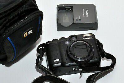 Canon PowerShot G10 14.7 MP Compact Digital Camera