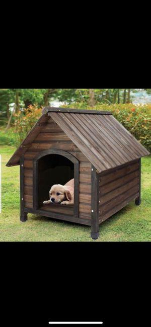 Brand new wooden doghouse! Nueva casita de madera para mascota ! for Sale in Los Angeles, CA