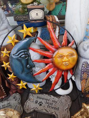 Colorful Sun Moon Star wall art for Sale in Dunedin, FL