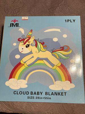 JML new baby blanket brown for Sale in Houston, TX