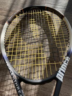 Prince triple threat bandit tennis racket, near mint body for Sale in Lone Tree, CO
