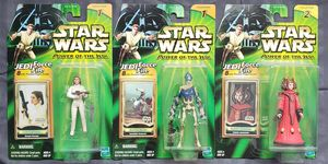 3 - Star Wars - Power of The Jedi - 3 3/4 Action Figure Collection for Sale in Oakdale, CA