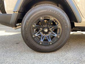 Trail Master 17x9 Satin Black Rims for Sale in Riverside, CA