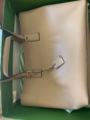 Brand New Kate Spade Purse Beige Color with Tags Designer Bag for Sale in Sacramento, CA