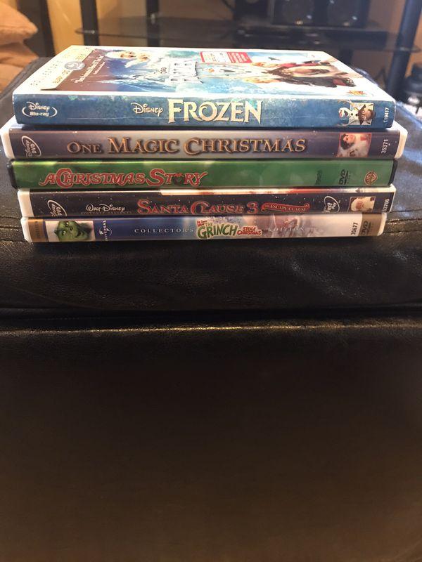 Popular Christmas DVD Movies