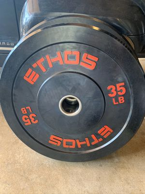 Brand new bumper plates 35s and 25s for Sale in Westminster, CA