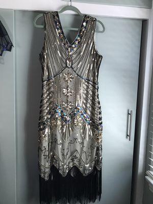 20's Fringe Flapper Dress size 12 for Sale in Riverside, CA