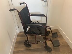 "DRIVE LIGHTWEIGHT TRANSPORT CHAIR - 19"" for Sale in San Diego, CA"